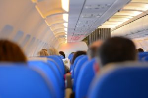 What do I do if injured on an airplane?